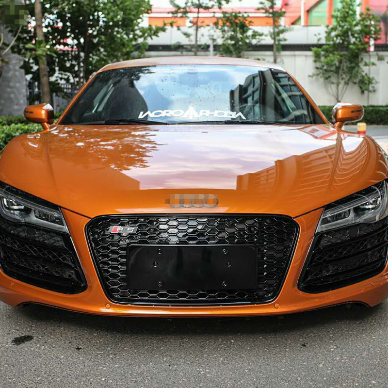 Worksheet. R8 RS Style ABS Chrome Frame Car Front Bumper Honeycomb Mesh Grill