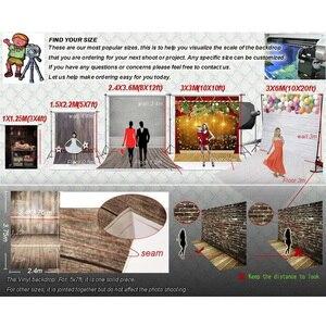 Image 4 - Beignets colorés bonbons fanion blanc planche de bois Photo fond vinyle décors pour enfants bébé douche photographie Photocall