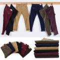 New male fashion corduroy pants pants men's business casual pants straight cylindrical male casual pants 29-40 6 color