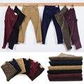 Nova moda masculina calças calças de veludo cotelê calça casual negócio dos homens hetero cilíndrico masculinos calça casual 29-40 6 cor