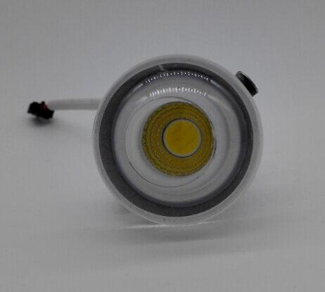Бесплатная доставка затемнения 3 Вт теплый белый/натуральный белый/холодный белый вел вниз свет акрил + алюминий встраиваемые светодиодная ...