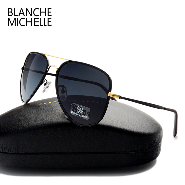 High quality Classic Pilot Polarized Sunglasses Men Women Brand Designer UV400 Outdoor Driver Sunglass Fashion Sun Glasses Cool