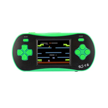 RS-16 Handheld Game Console Children's Puzzle Handheld Game PSP Color Screen Retro Game