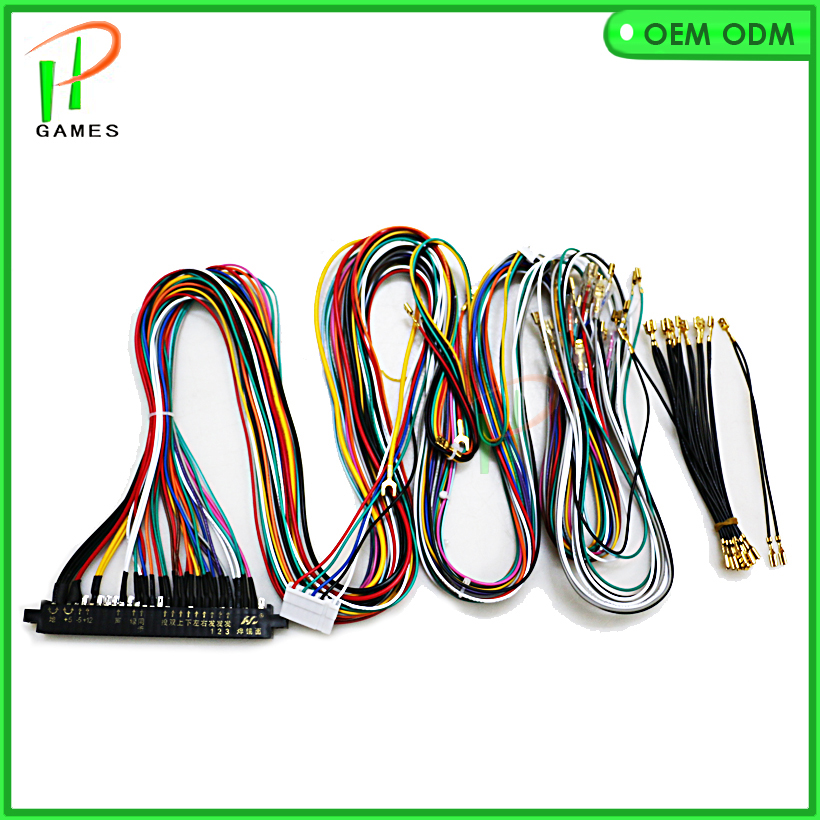 28pin Wire harness for Jamma arcade game pcb output to LCD CRT game machine accesorios aliexpress com buy 28pin wire harness for jamma arcade game pcb Wire Harness Assembly at eliteediting.co