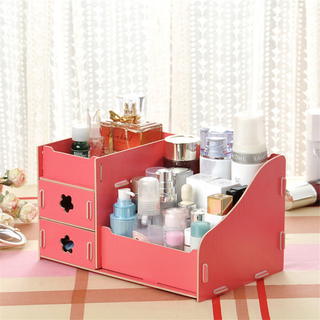 Multi Function Table Sundries Container Cosmetics Storage Box Diy Office  Desktop Drawer Storage Shelves Makeup