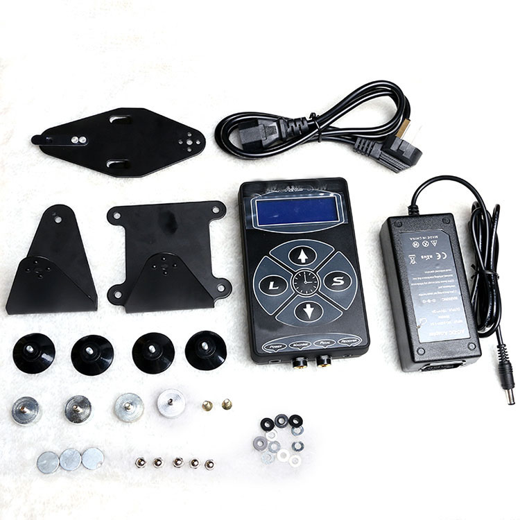 Professional Tattoo Power Supply Lcd Display Digital Kit Set For Tattoos Machines Tatoo Accessories Embroidered Equipment