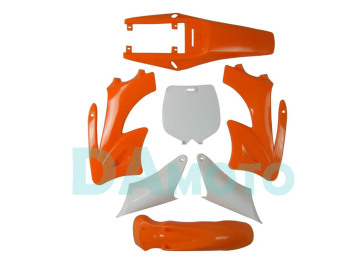 2-stroke for Apollo Orion Fairing plastic body kits fit pit dirt bike 49cc-100cc - Orange