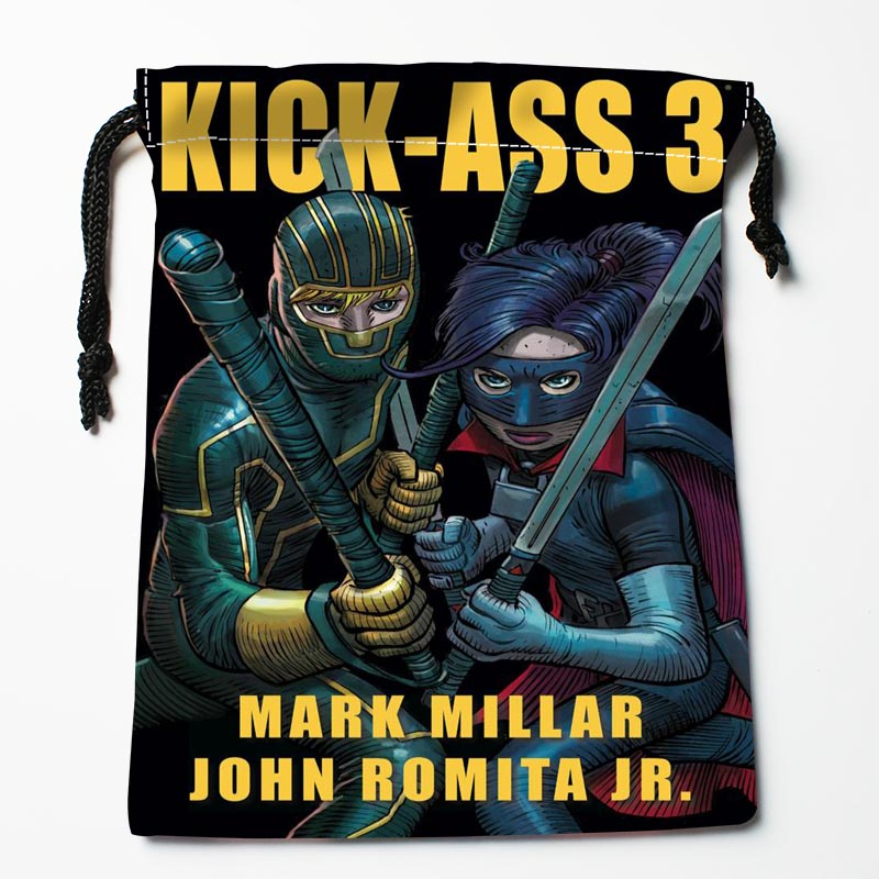 Custom Kick-Ass Drawstring Bags Custom Storage Bags Storage Printed Gift Bags More Size 27x35cm Compression Type Bags