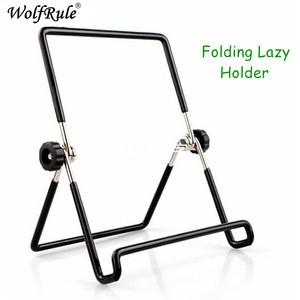 Universal Tablet Pc Mobile Phone Holder Stand Support Tablet Pcs Folding Lazy Holder For Samsung Tab 4 10.1
