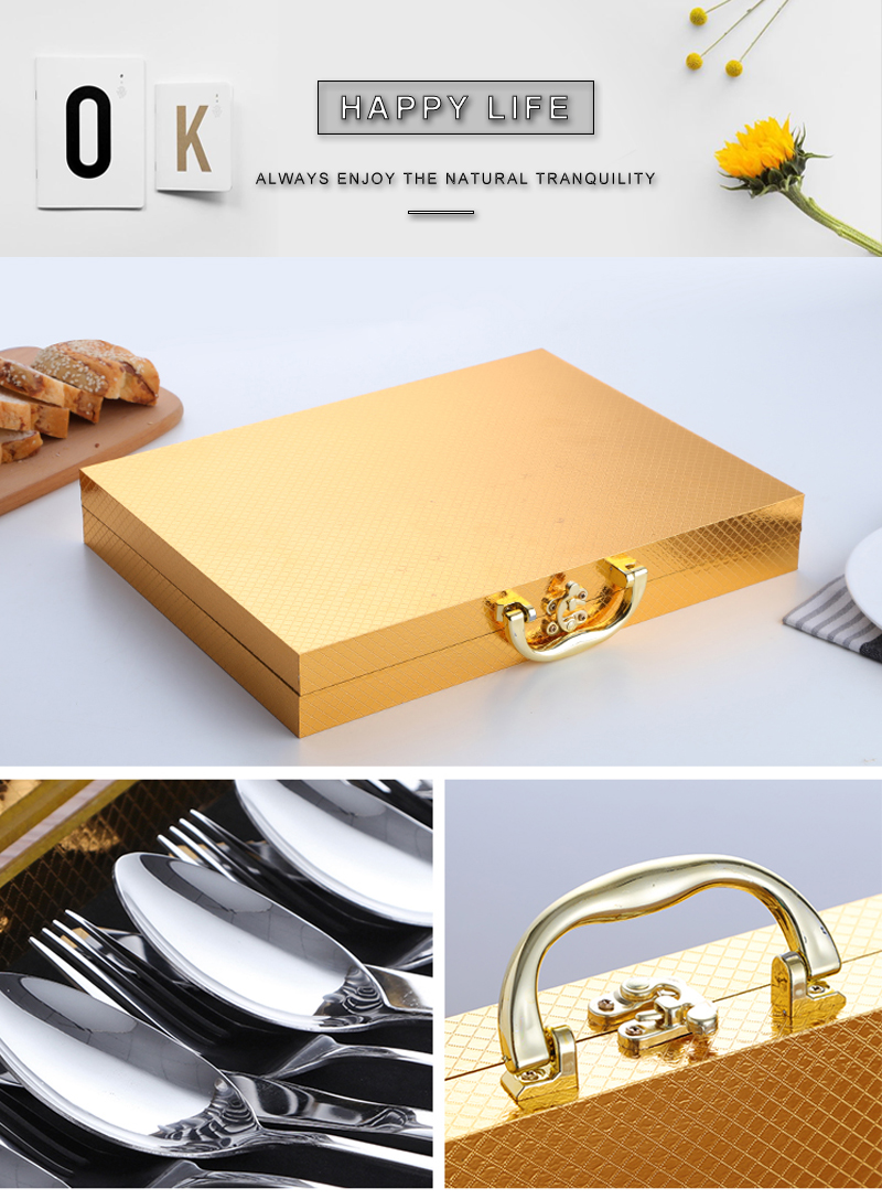 rose gold kitchen cutlery gold (2)