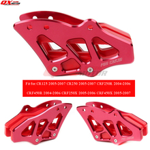 цена CNC Chain Guide Guard Sprocket Guard  for CR125 CRF250 CRF250R CRF450 CRF450 MX motocross free shipping