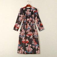 WZ9029Hot koop Nieuwe Mode Vrouwen 2017 Herfst Jurk Populaire Merk Mode Ontwerp Vrouwen jurken Party stijl jurk?