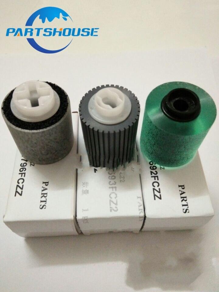 2Sets Originele nieuwe ADF feed roller kit NROLR1692FCZZ NROLR1693FCZZ NROLR1796FCZZ voor Sharp MX M850 M950 M1100 OEM ADF Roller kit-in Printer Onderdelen van Computer & Kantoor op AliExpress - 11.11_Dubbel 11Vrijgezellendag 1
