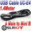 USB Cable For Canon IFC-400PCU IFC-300PCU Nikon UC-E4 UC-E5