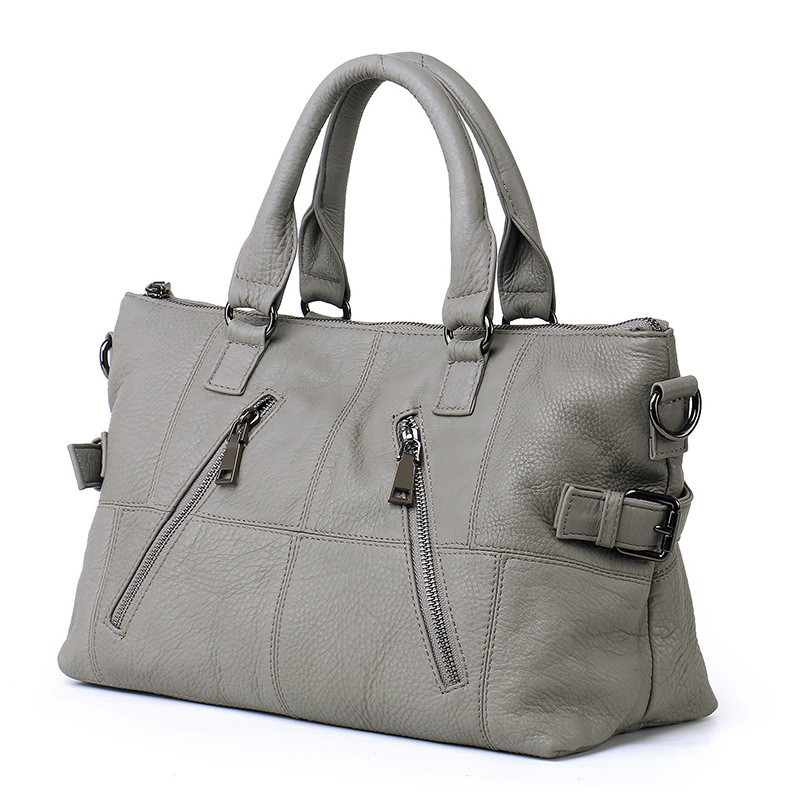 Pyaterochka กระเป๋าถือผู้หญิงกระเป๋าสุภาพสตรี ladies กระเป๋าถือคุณภาพสูงเลดี้หญิงแฟชั่น 2018-ใน กระเป๋าสะพายไหล่ จาก สัมภาระและกระเป๋า บน   2