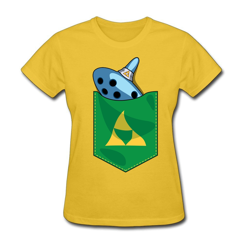 Shirt design website cheap - 2017 Fashion Women S Pocket Of Time Cotton Round Collar T Shirts Woman Short Sleeves Printed Custom Shirt Design Website