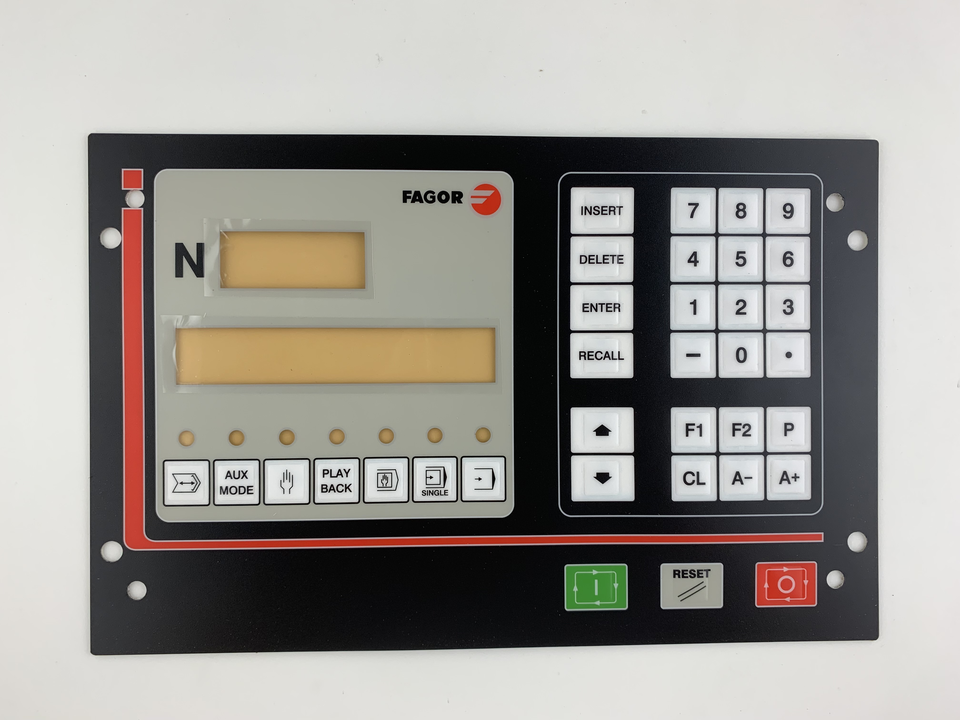 CNC101 FAGOR Membrane Keypad for CNC system 90 days warranty Fast Shipping