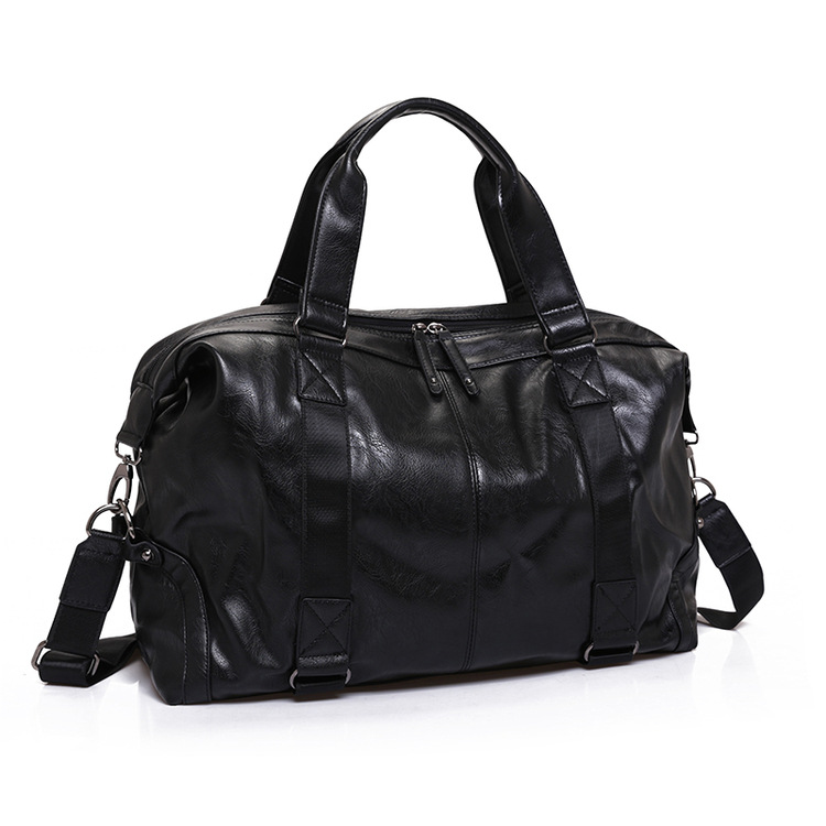 2017 New Arrival Split Leather Travel Bags for Men Large Capacity Portable Male Shoulder Bags Mens Handbags Casual Travel Bag