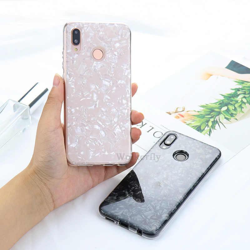 Conch Shell Caixa Do Telefone para Em Honra de luxo 8X10 9 lite 7C 8A Pro caso para Huawei P30 p10 P20 Lite Y9 Y7 Pro P 2019 Tampa Inteligente