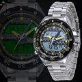 NORTE Reloj Deportivo Para Hombre de Cuarzo Relojes Militares de Acero Inoxidable Led Reloj de Alarma LCD Deportivo Digital Reloj de Los Hombres Whatch XFCS