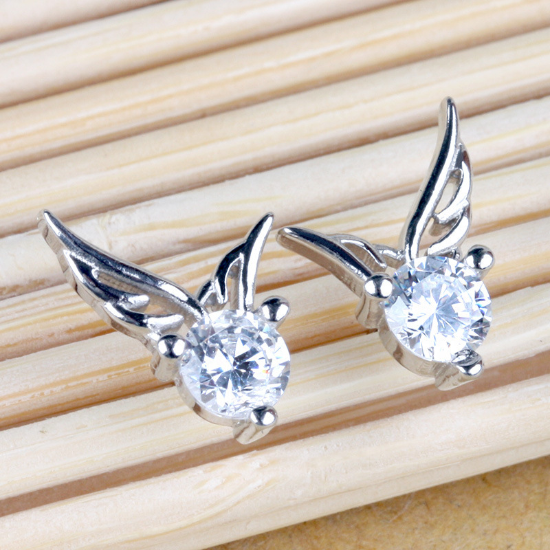 Angel Wing Earrings Drop Ship Alloy Craft High Quality Simple Shipping Ctxzcred0003 In From Jewelry Accessories On