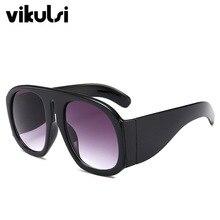 New Classic Aviator Oversized Sunglasses Women Vintage Brand Designer Sun Glasses For Women Big Shades Oculos Female 2018 Retro