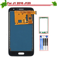 4.5 Replacement for Samsung Galaxy J1 2016 J120 J120F LCD Display Touch Screen Digitizer Assembly for Galaxy J1 J120 lcd Oled