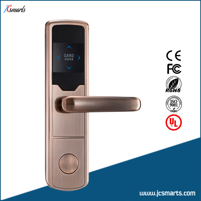 Wholesale Zinc alloy Smart Keyless Digital Electronic RFID Card Reader Hotel RF Door lock original 10 1 inch case tablet pc lcd display mf1011685008a lcd screen digitizer sensor replacement free shipping
