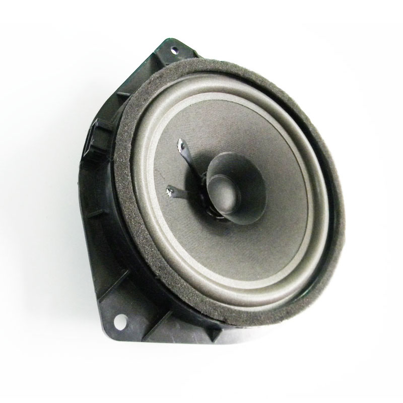 Quality 6 5 Inch 4Ohm Dual Cone Car Speaker Foam Edge Auto Loudspeakers For Hyundai Toyota Universal Plastic Stand Gasket in Abrasives from Tools