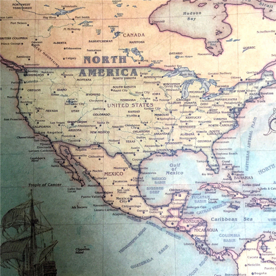 Image From HttpwwwmapperycommapsAntiquemapofBostonfrom Antique - Vintage los angeles map poster
