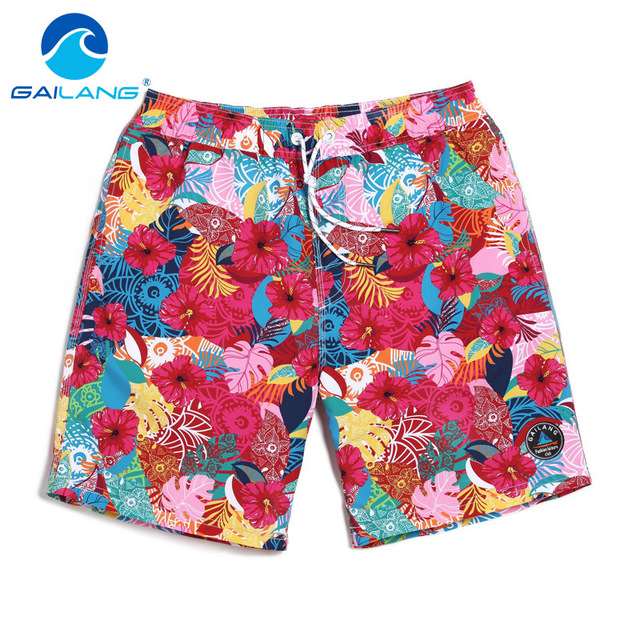Gailang Brand Swimwear Swimsuits Boxer Trunks Shorts Men's Beach Boardshorts Gay Sweatpants Active