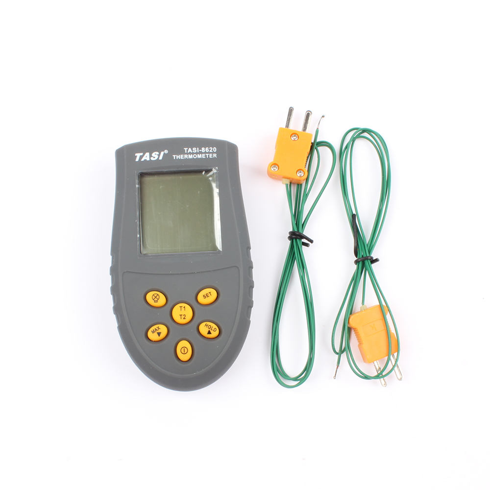 TASI-8620 Portable K TYPE Thermocouple Probe Thermometers Digital Thermometer Temperature Measurement meter -50 ~1350 C