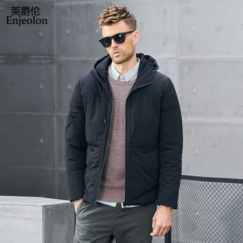 엔젤론 브랜드 겨울 코튼 패딩 후드 자켓 남성 두꺼운 후드 파카 코트 남성 퀼트 겨울 자켓 코트 3xl mf0052-에서파카부터 남성 의류 의  그룹 1