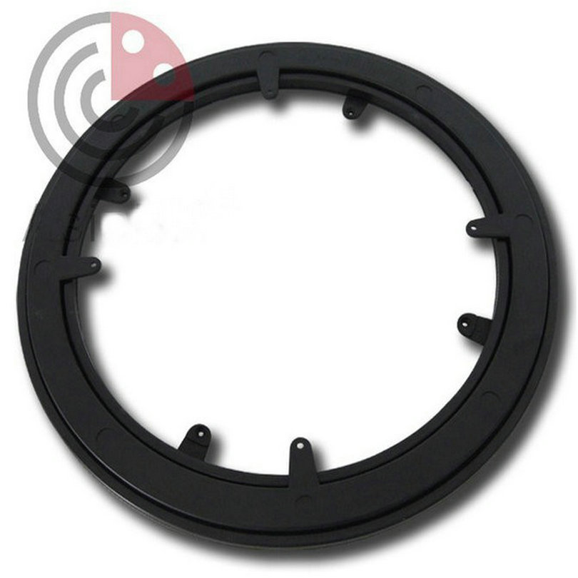 Furniture Rotation Out Dia250MM (10 Inch) ABS+PC Plastic Turntable, Circular Base, Swivel Plate With Steel Bearing Ball