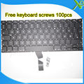 "5PCS--Brand New DK Denmark keyboard+100pcs keyboard screws For MacBook Air 13.3"" A1369 A1466 2010-2015 Years"