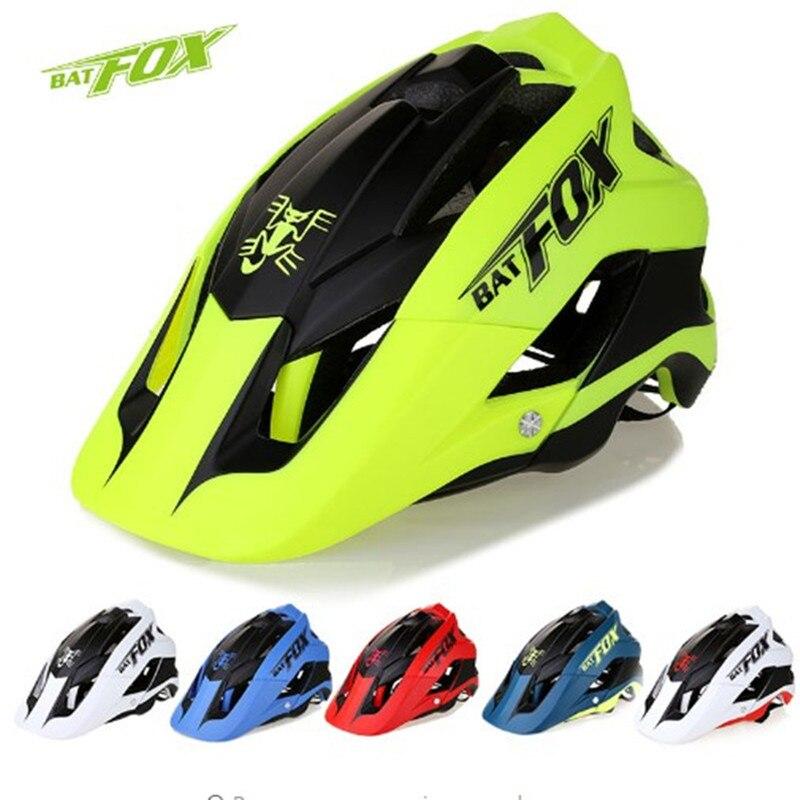 BATFOX moulure globale casque de vélo ultra-léger casque de route BAT FOX DH AM haute qualité vtt vélo cyclisme casque casco ciclismo
