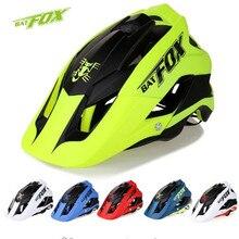 BATFOX комбинезон литье велосипедный шлем ультра-легкий дорожный шлем летучая мышь лиса DH AM Высокое качество mtb велосипед велосипедный шлем