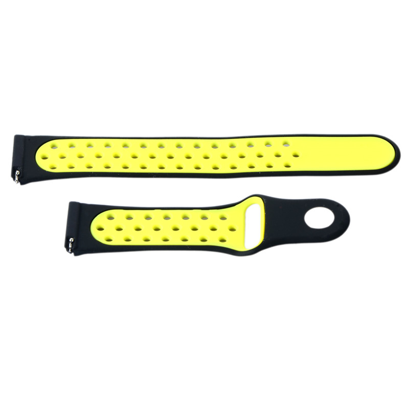 2017 Fashion Silicone Rubber Smart Watch Wrist Band Strap for Blaze Bracelet Replacement