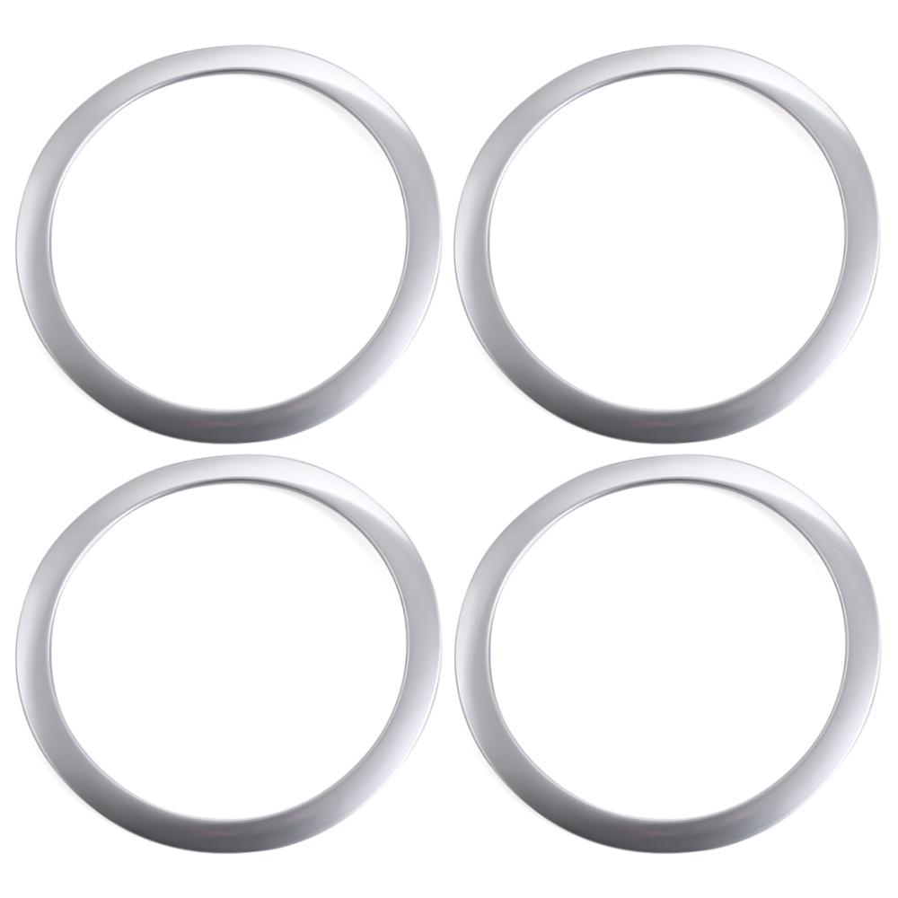 Stainless Steel Doors Sound Ring Cover Car Accessories For