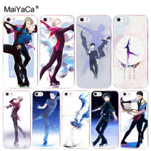 MaiYaCa sport figure skating fashion design skin thin pc cell Case for iPhone 8 7 6 6S Plus X 10 5 5S SE 5C 4 4S Coque Shell цена 2017