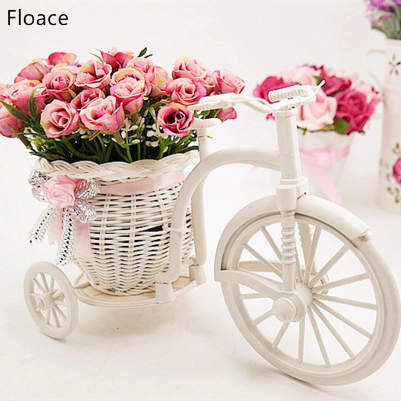 Floace 2017 יפה הביתה קישוט פרח ראטן - חגים ומסיבות