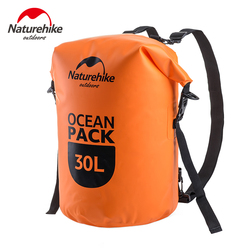 Naturehike Camping Ocean Pack Outdoor Dry Bag Shoulder Waterproof Backpack Swimming Bag FS16M030-L
