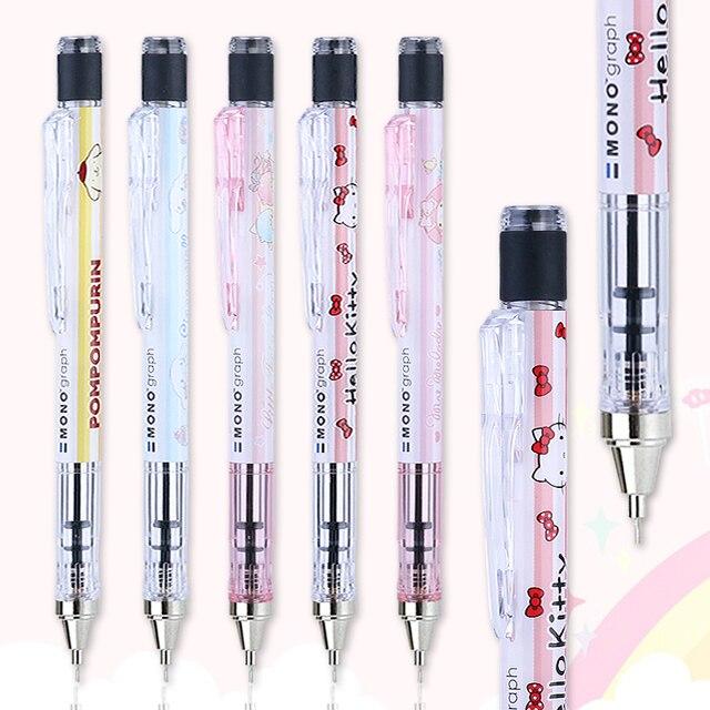 Japonya TOMBOW x Sanrio Kooperatif Sınırlı Mekanik Kurşun Kalem DPA 131 Mekanik Kurşun Kalem 0.5 MM 1 ADET