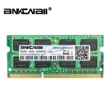 DDR3 2 ГБ/4 ГБ/8 ГБ ОЗУ 1333 МГц PC3 10600S ноутбук DIMM память 204 контакты для системы Intel Высокая совместимость