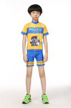 Children Bike Shorts  jersey  Shorts Sets Team Bicycle  Cycling Clothing Kids Boys mtb Shirts Top Suits