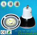 5W GU10 COB LED Spot Light Spotlight Bulb Lamp High power lamp 85-265V Warranty 2 years CE ROHS -- DHL free shipping