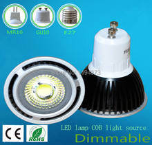 5W GU10 COB LED Spot Light Spotlight Bulb Lamp High power lamp 85-265V Warranty 2 years CE ROHS -- DHL free shipping недорого