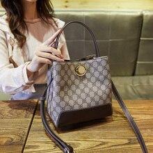 купить 2019 Brand Women Fashion Shoulder Bags High Quality Handbag Casual Large Capacity Tote Female Vintage PU Leather Crossbody bag по цене 2032.09 рублей