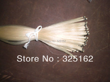 30 Hanks Violin Bow hair, 6 grams/hank 32 inches White Mongolia horse hair