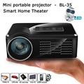 Mini LED Projector BL-35 Portable TV DVD Game Projectors LCD HD Video 3D Home Theater Education HDMI VGA AV USB Beamer 5pcs/lot